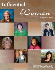 Influential Women of Northern Nevada - Gordon Silver