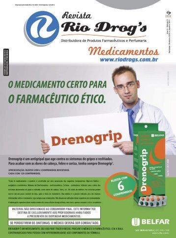 Revista Medicamentos 6ªEdição Clique para baixar - Rio Drogs