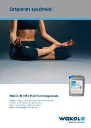 Flyer - Wakol GmbH