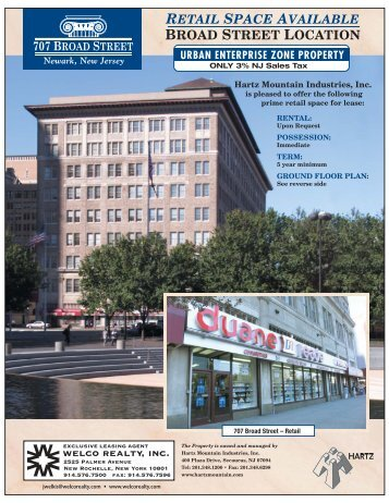 Brochure - Welco Realty, Inc