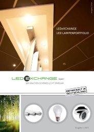 LEDeXCHANGE LED LAMPENPORTFOLIO