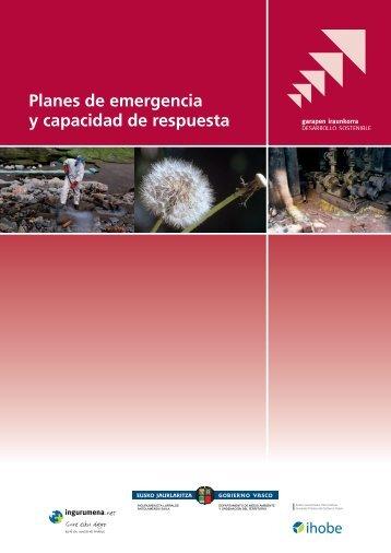 Planes de emergencia y capacidad de respuesta - Ihobe