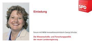 Einladung - SPD-Ratsfraktion Dortmund