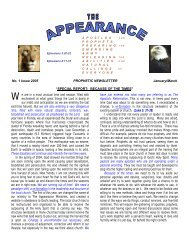 Q 1 - the appearance ministries