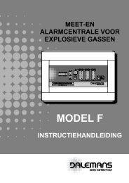 Central Model F - Dalemans Gas Detection
