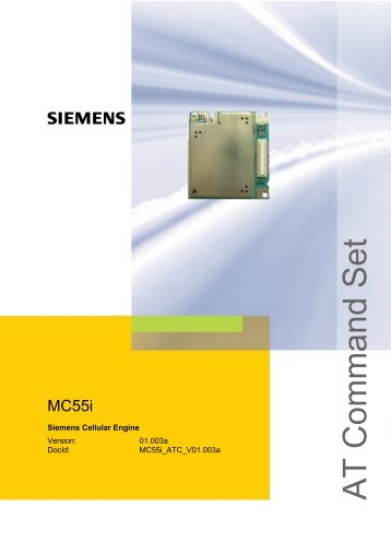MC55i AT Command Set - RF Solutions