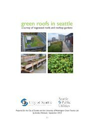 green roofs in seattle - Green Futures Lab - University of Washington