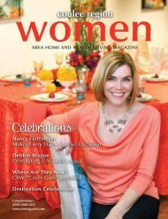 April/May - Coulee Region Women's Magazine