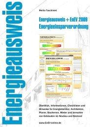neue Energieeinsparverordnung für Gebäude - ENEV-Online.de