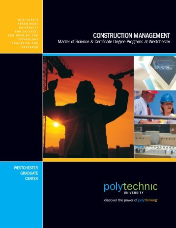 CONSTRUCTION MANAGEMENT - Polytechnic University