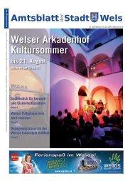Amtsblatt der Stadt Wels Juli 2013