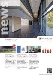 Stark aufgestellt assmann news 24_dez12 Projekte, Projekte... Im ...