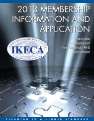 2013 MEMBERSHIP INFORMATION AND APPLICATION ... - IKECA