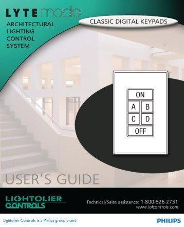 Untitled - Philips Lighting Controls
