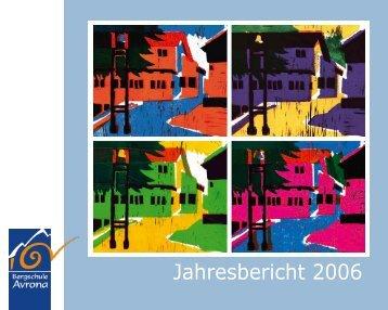 Jahresbericht 2006 - Bergschule Avrona