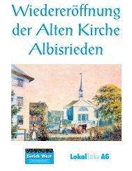 Ausschreibung Zürich West - Kirchgemeinde Albisrieden