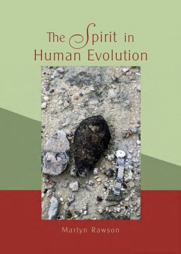 The Spirit in Human Evolution - Waldorf Research Institute