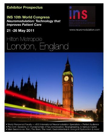 Exhibitors' Prospectus - International Neuromodulation Society