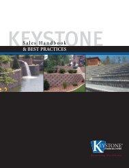 & BEST PRACTICES Sales Handbook - Keystone