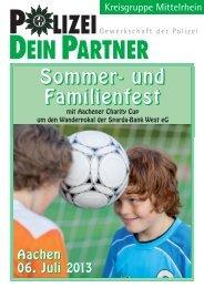 Sommer- und Familienfest - bei Polizeifeste.de