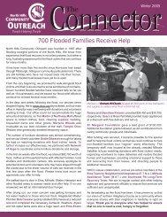 Newsletter Winter 2005 - North Hills Community Outreach