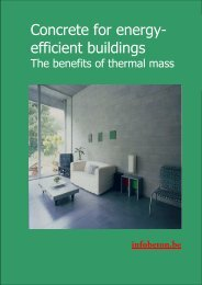 Concrete for energy-efficient buildings - Febelcem