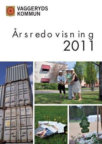 Förvaltningsberättelse 2011 - Vaggeryds kommun