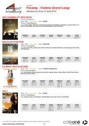 Fécamp - Cinéma Grand Large