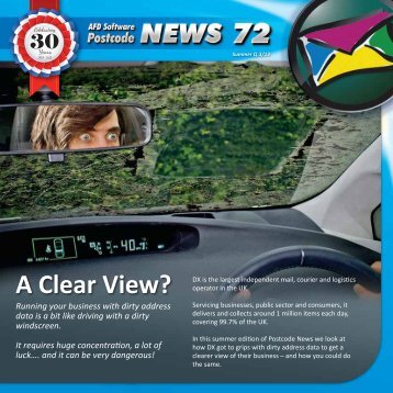A Clear View? - AFD Software