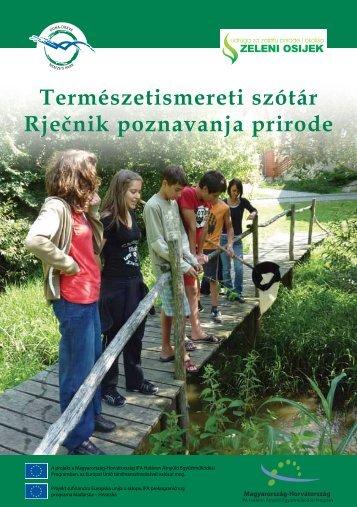 Horvát-magyar természetismereti szótár - Duna-Dráva Nemzeti Park