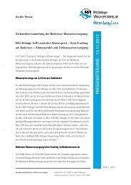 EEG-Umlage trifft auch den Wasserpreis - Zweckverband Bodensee ...