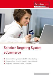 Schober Targeting System ecommerce