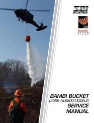 BAMBI BUCKET SERVICE MANUAL - SEI Industries Ltd.
