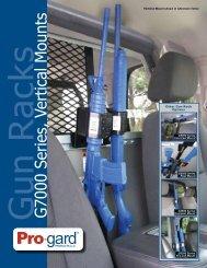 G7000 Series, Vertical Gun Racks Product Sell Sheet - Pro-Gard ...