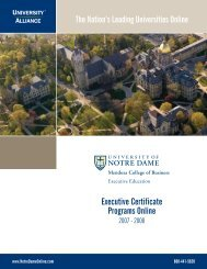 Executive Certificate Programs Online - National Technical ...