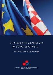 što donosi članstvo u Europskoj uniji - Vlada Republike Hrvatske