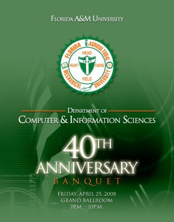 program. - Department of Computer and Information Sciences - FAMU