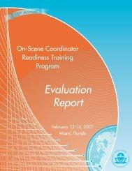 OSC 2007 Evaluation Report