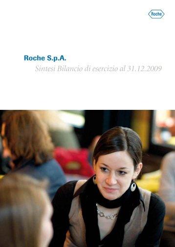 Sintesi Bilancio di esercizio al 31.12.2009 - Roche