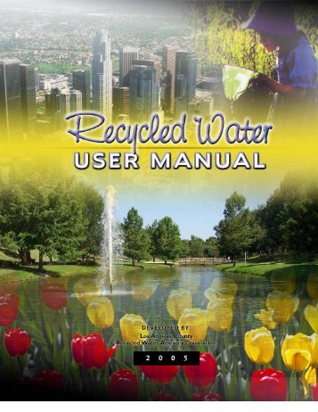Recycled Water Users Manual - WateReuse Association