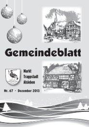 Gemeindeblatt Januar 2014 - Markt Trappstadt