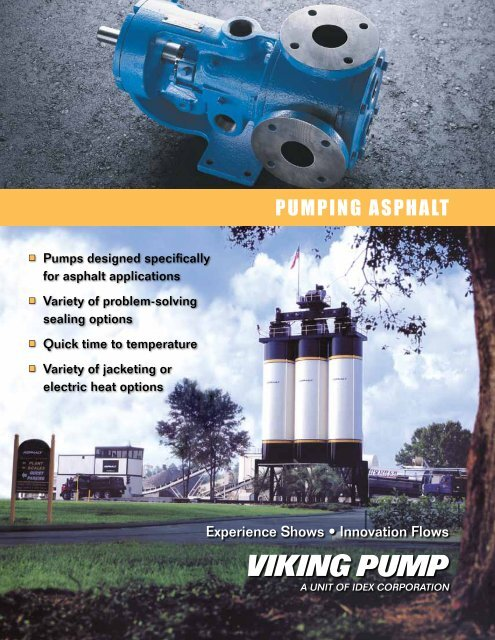 PUMPING ASPHALT - Viking Pump