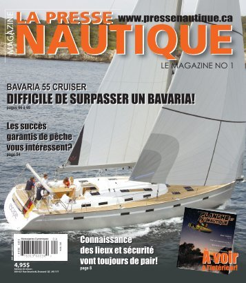 La Presse Nautique, août 2009 - NautiPneu - Pneuboat.com