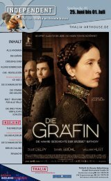 25. Juni bis 01. Juli 2009 - Thalia Kino