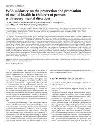 View - World Psychiatric Association