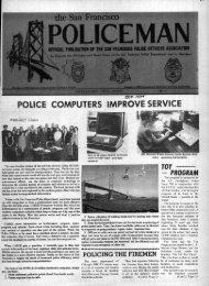 October 1974 - San Francisco Police Officers Association