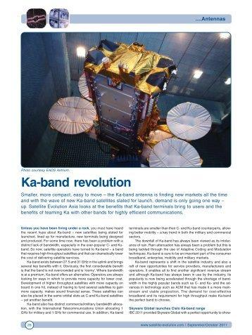 Ka-band revolution - Satellite Evolution Group