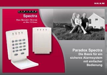 Spectra Paradox Spectra