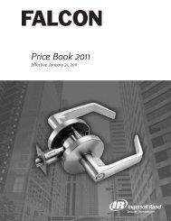 Falcon Jan 2011 Pricebook.pdf - Access Hardware Supply