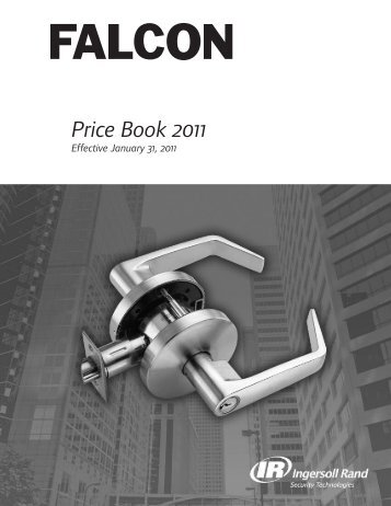 Falcon Jan 2011 Pricebook.pdf - Access Hardware Supply